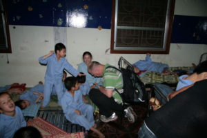 2009 - Rolf zu Besuch bei den Kindern