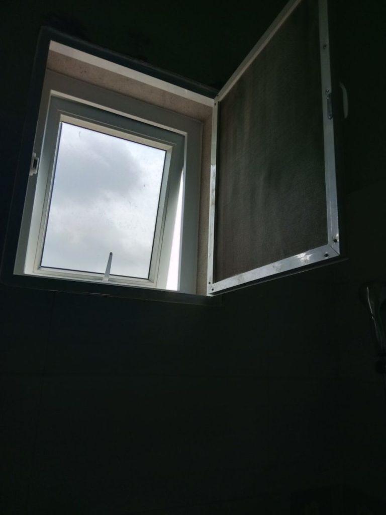 Neues Badfenster